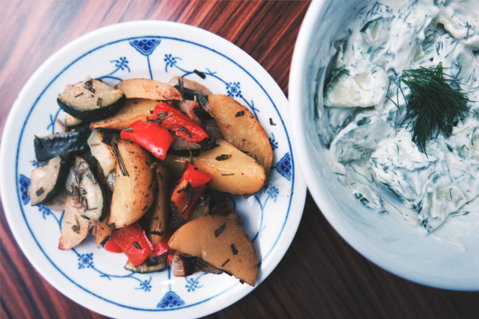 Sonntagsblog   Über das Weinen   Lese-Challenge   Ofen-Gemüse